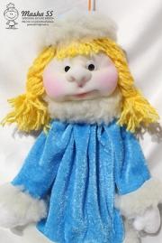 Снегурочка игрушка на ёлочку