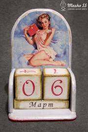 """Вечный календарь """"PinUP"""""""